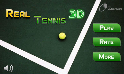 Play Real Tennis 3D Game 2015