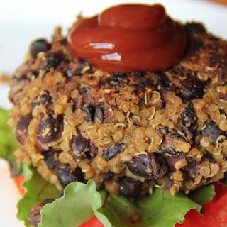 Black Bean and Quinoa Burgers Recipe
