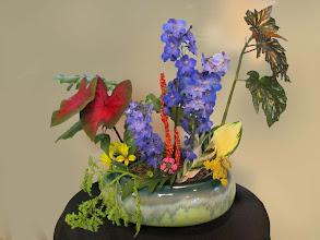 Photo: Floral Designer: Burnie Ott Garden Club of Rogers