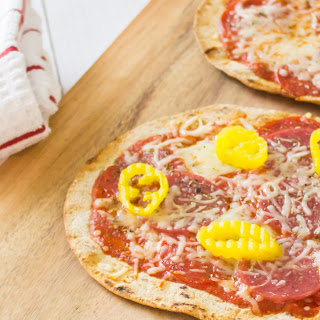 Best Flatbread Pizza Recipe With Low Carb Crust.