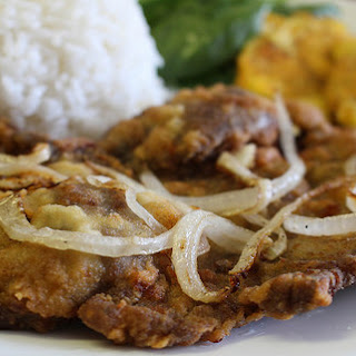 Bistec Empanizado (Cuban Breaded Steak)