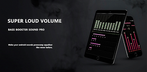 Super Loud Volume Booster - Bass Booster Sound Pro - Apps on
