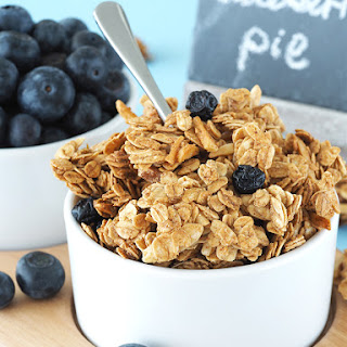 Blueberry Pie Granola
