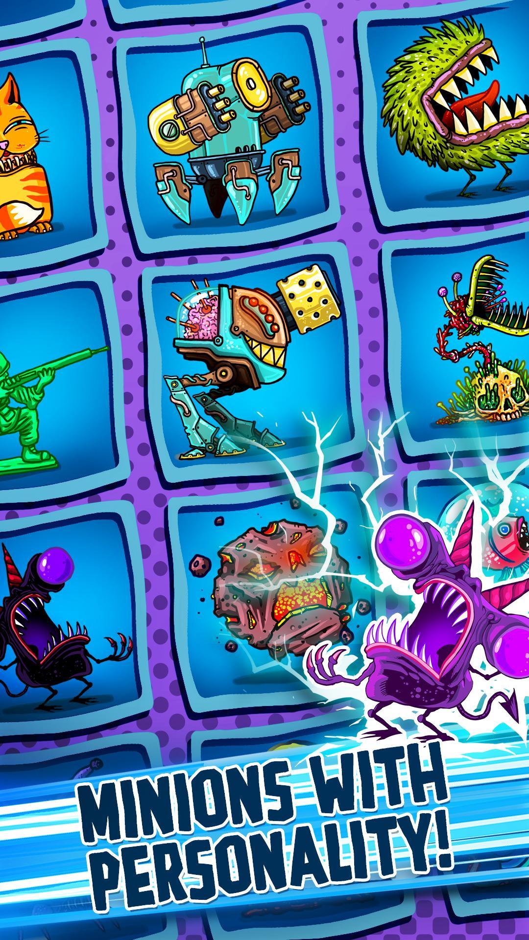 Tap Busters: Galaxy Heroes screenshot #4