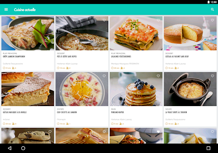 Cuisine Actuelle Applications Android Sur Google Play - Appli cuisine