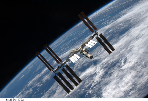 View of ISS after STS-126 Undocking