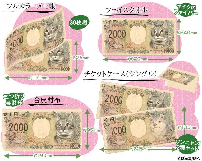[迷迷藝文] 繼柴犬紙鈔之後 貓貓紙鈔也將實體化啦