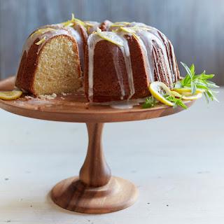 Buttermilk Bundt Cake with Lemon Glaze