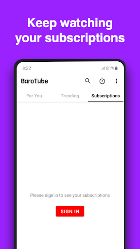 BaroTube, Floating Tube Player screenshots 5
