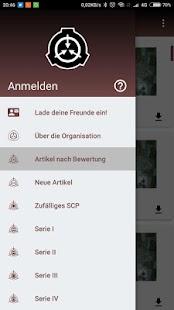 SCP Foundation Database de Deutsche On/Offline - náhled