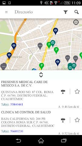 android RadarCiSalud Screenshot 3