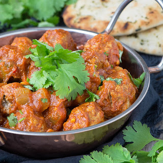 Lamb Meatball Curry.