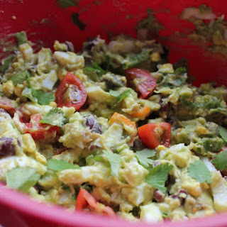 Mexican Egg Salad – A Low-Carb, Gluten-Free Recipe for Cinco De Mayo