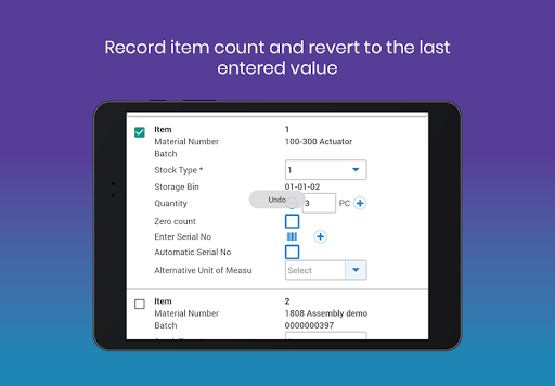 mInventory - Mobile Inventory & WM Solution 7.4.0 build 486 screenshots 12