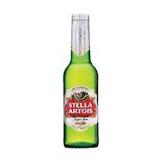 Stella Artois, 330 ml Bottled Beer (5.2% ABV)