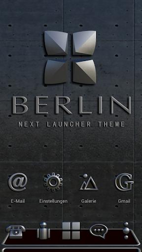 NEXT Launcher 3D Theme BERLIN