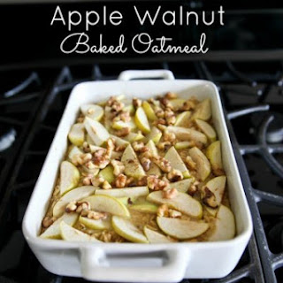 Apple Walnut Baked Oatmeal
