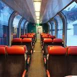 Swiss Panorama Train, Switzerland in Zermatt, Valais, Switzerland