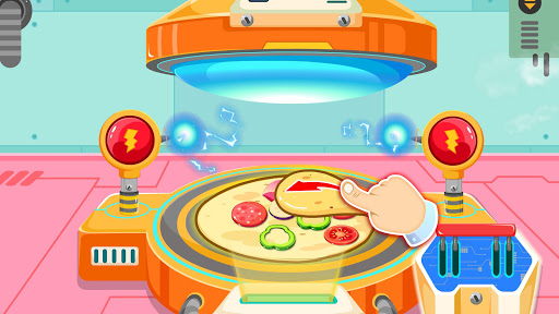 Little Pandau2019s Space Kitchen - Kids Cooking  screenshots 14