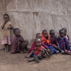 Maasai Children by VAM Photography - Babies & Children Children Candids ( tanzania, places, children, culture, travel, people )