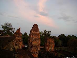 Photo: #011-Coucher de soleil sur Angkor
