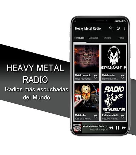 Heavy Metal Radio - Heavy Metal and Rock Radio screenshots 3