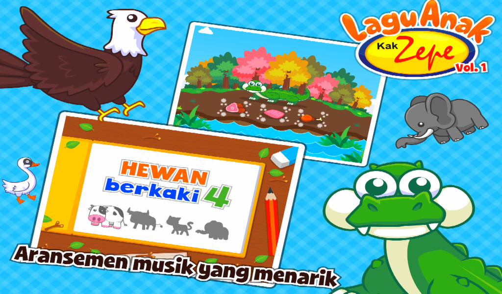 Screenshots of Lagu Anak Indonesia Kak Zepe 1 for iPhone