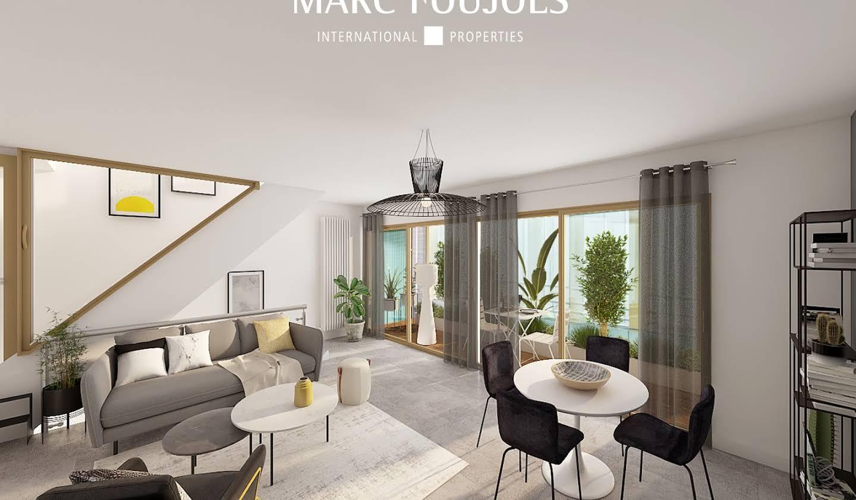 Appartement avec terrasse Paris 3ème