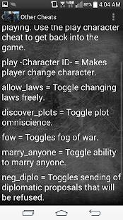 Crusader Kings 2 Cheat Codes - Apps on Google Play