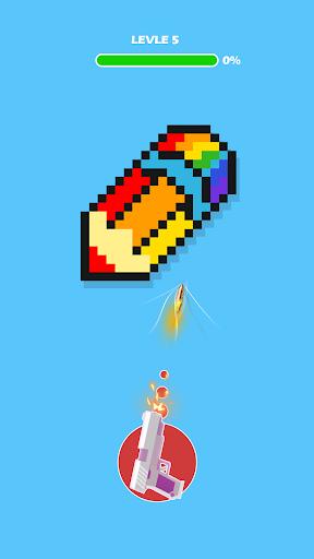 Télécharger Gratuit Shooting the Pixel - Guns & Briques apk mod screenshots 4