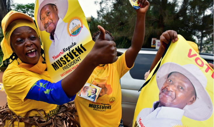 Uganda's Museveni holds commanding election lead, rival alleges fraud