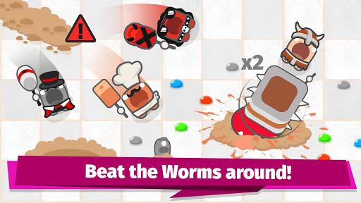 Smashers.io Foes in Worms Land 1.8 screenshots 2