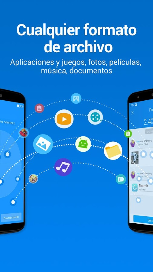 SHAREit - Transferir&Compartir: captura de pantalla