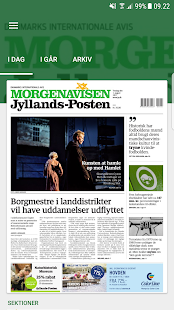 Morgenavisen Jyllands-Posten- screenshot thumbnail