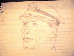 Photo: Sketch of Robert Mitchem as Pug in Winds of War