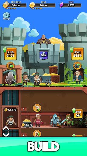 Code Triche Idle Miner Kingdom - Simulateur de Fantasy RPG apk mod screenshots 5