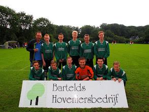 Photo: B1 bij het Bartelds toernooi te Glimmen