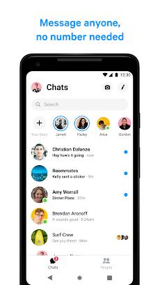 Messenger – 無料のSMSとビデオ通話のおすすめ画像2