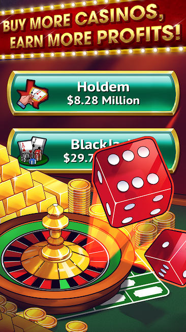 #4. Tap it Big : Casino Empire (Android)