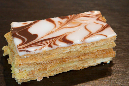 Mille-feuille pastry. File photo