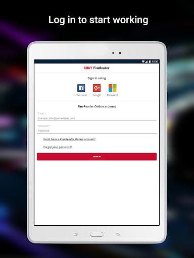 ABBYY FineReader client 1.1.0.5 screenshots 14
