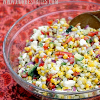 Corn Salad with Queso Fresco