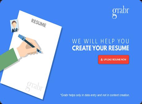 Grabr CV: Online Resume Builder