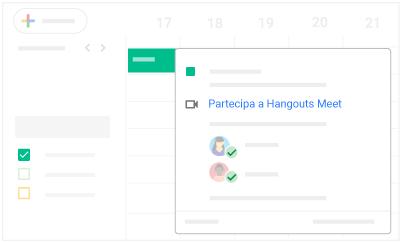 Partecipare a Hangouts Meet