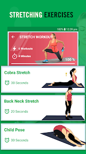 Yoga poses for stress relief: Stretching exercises 2