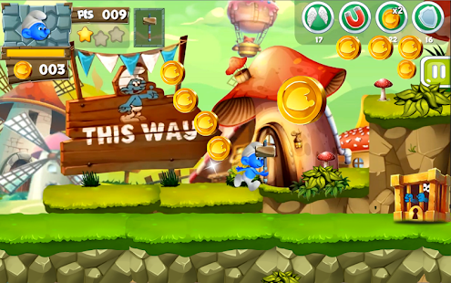 Legend of blue hero :quest for restore the village - náhled
