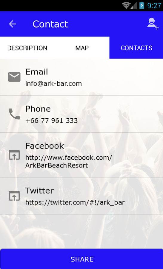 ARKbar- screenshot