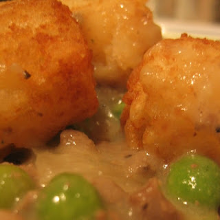 Gluten and Dairy Free Tater Tot Casserole.