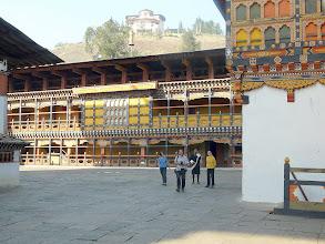Photo: Im Dzong von Paro