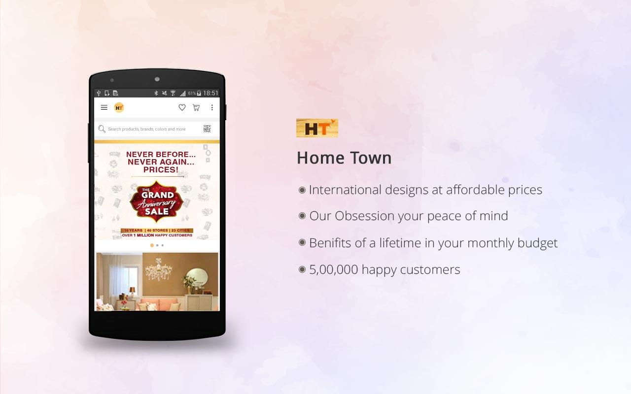 HomeTown – Furniture Store- screenshot
